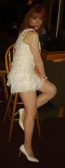 White Lace (Elizabeth Heatherton) Tags: drag tv cd crossdressing transvestite dragqueen transgendered crossdresser