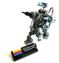 The Award Winning Rusted Iron (aabbee 150) Tags: lego best mecha 2011 brickworld