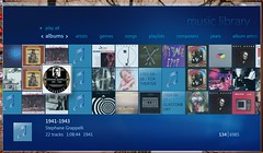 blue music 22 screenshot all play album library tracks collection albums website artists microsoft stephanie vista years playlists mediacenter colorfields songs 44 08 stephane composers 134 genres 6985 compsers grappeli 19411943 grappellli