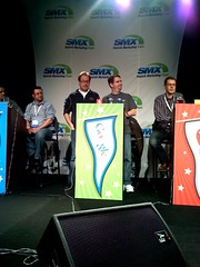 The Google team won SMX West 2008 Search Bowl