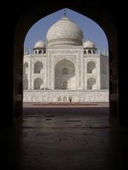 The Taj Mahal, Framed
