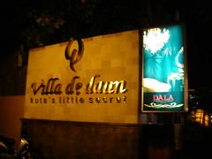 Villa De Daun 夜景