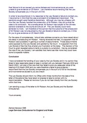 LSO Report on Michael Robson Page 4