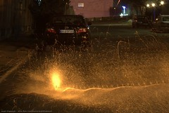 FireWorks (Arash_Khamoosh) Tags: car fireworks