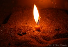 Candle light (mpalis) Tags: birthday light illustration night easter relax fire hope sand candle background object religion pray praying decoration indoor illuminated flame fla