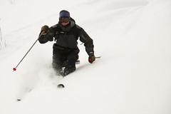 Just enjoying the powder in the closed Charlevoix ;) (ylarrivee) Tags: ski 2008 lemassif yannlarrivee
