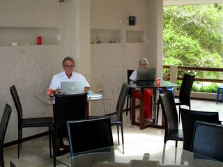 Ecuador-Beach-Office