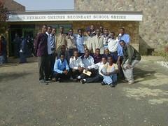 Group of Sheikh School students  with teacher. (Yusuf Dahir's Somaliland Photos) Tags: school sheikh somaliland