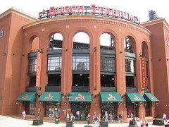 Busch Stadium - Home Of The St Louis Cardinals by Sheehan Family