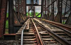 Tracks Across the Cumberland (crashmattb) Tags: bridge abandoned train nashville tennessee tracks tonemapped canonef50mm18ii canoneosdigitalrebelxti anawesomeshot