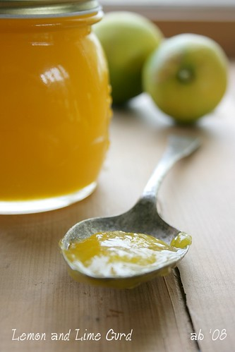 lemon and lime curd