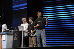 Robert Brewin, Chris Oliver and Anthony Rogers, Technical General Session, JavaOne 2008