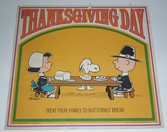 Peanuts Thanksgiving sign
