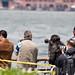 Fleet week photographers at Battery Park