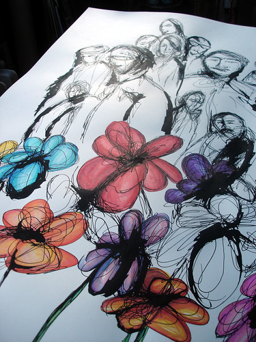 Street Flowers - in progress - 01