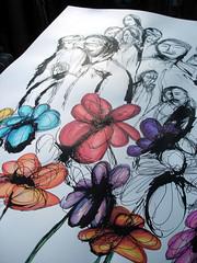 Street Flowers - in progress - 01