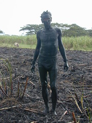 Fijian Savage after the fire