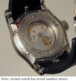 Roger Dubuis SAW - back