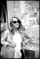 Elisabetta Catalano, photographer, 1997  photo Salvatore Piermarini (Salvatore Piermarini fotografo) Tags: leicam6 autaut neroamet elisabettacatalano salvatorepiermarini