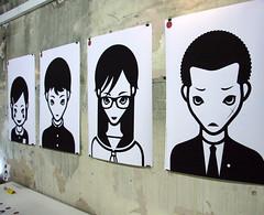 Japanese Icons (alistairh) Tags: illustration design icons graphic ba csm yukinori japanse motoya alistairbhall