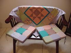 Iluminadas (Unio de Retalhos por  Adriana Nalin) Tags: quilt tea handmade patchwork ch