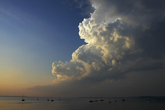 Midwest Storms (Mingfong) Tags: light summer sky usa lake color wisconsin clouds painting 2006 story madison albumcover thunderstorm summertime mendota stories cloudformation        mingfong  madison365 midweststorm musicflyer  mingfongjan artbrochure sketchoflight mingfongphotography cloudsstormssunsetssunrises