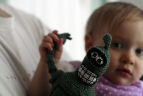 claire with bender