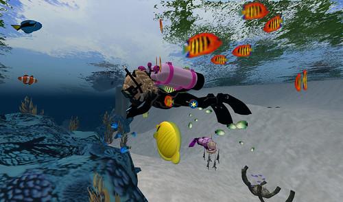 free scuba diving games
