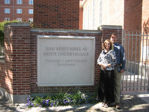 Ric & Tami at Copenhagen Temple
