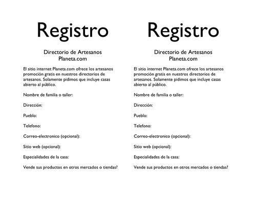Registro 2008