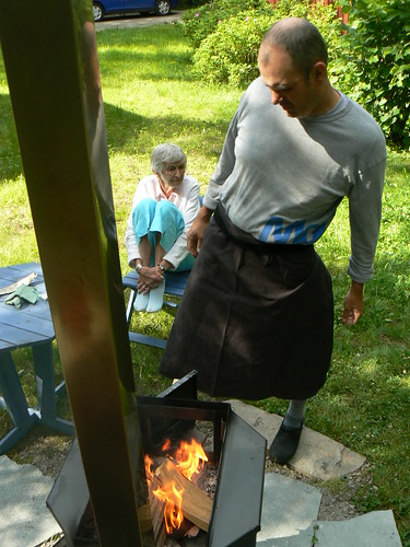 Firing the Finnish Smoker
