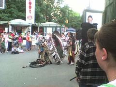 RAZA muzica peruana amerindieni zulu Piata Romana Romania 2