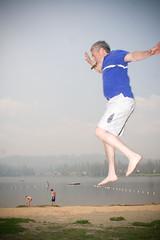 JUMP this was his idea (laurenlemon) Tags: fathersday sodasprings serenelakes jumpology laurenrandolph laurenlemon