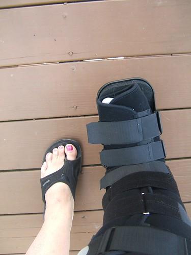 the damn boot