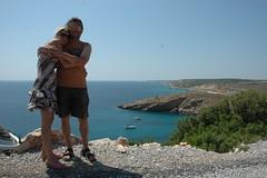 Pelin & me in Bozcaada 2 (Bart Bonamie) Tags: turkey turkiye bozcaada