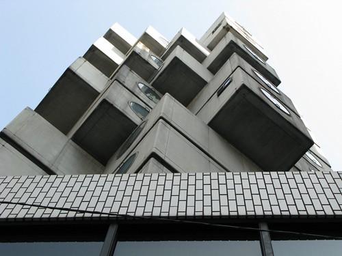 kisho kurokawa, nakagin capsule tower