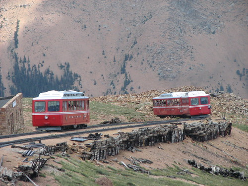The train that climbs mountains