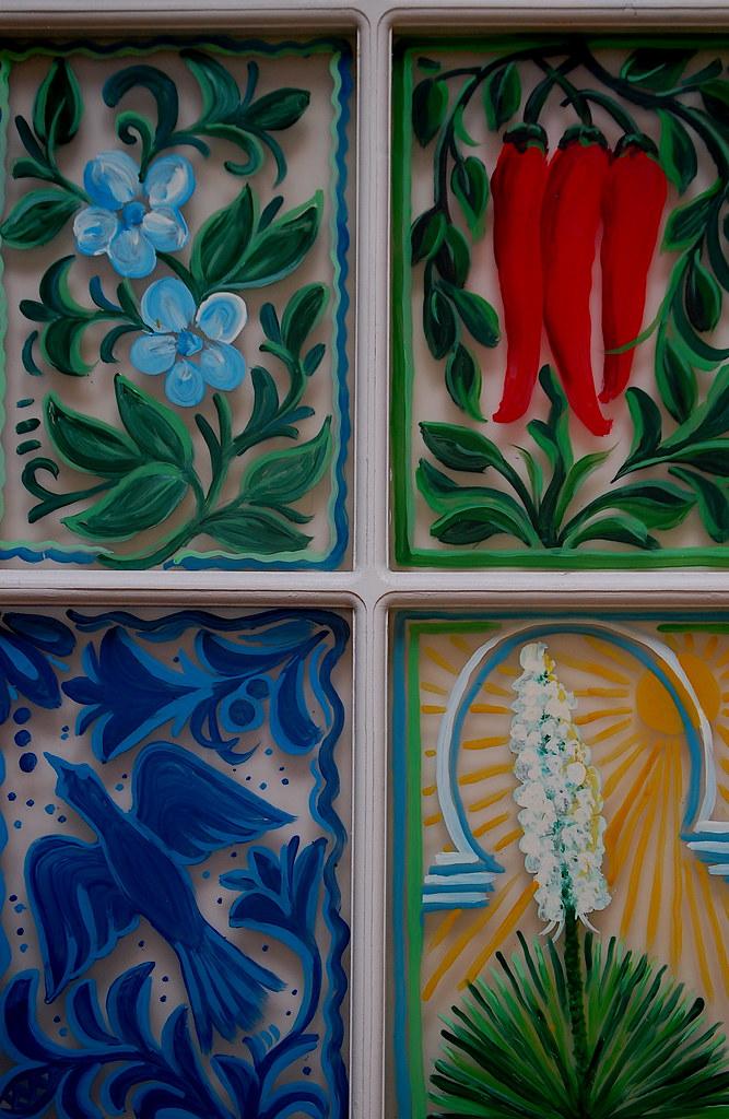 Window Details. La Fonda Hotel. Santa Fe, NM.