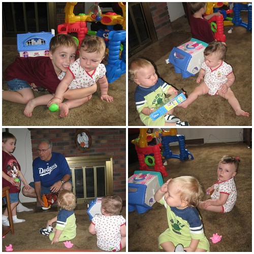 Cousins play together