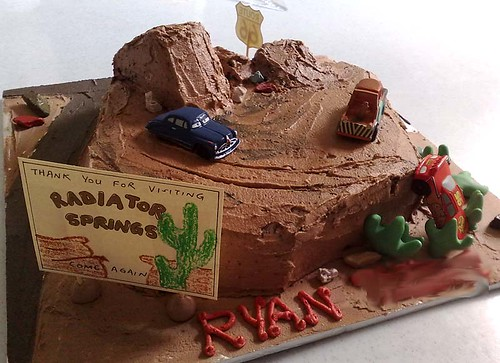 Ryans birthday cake by Mamamin