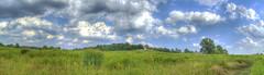Fields of green (_Robert C_) Tags: nyc panorama ny green d50 landscape fields stitching 1855mm statenisland nikkor hdr hugin photomatix mountloretto tonemapping robertcatalano