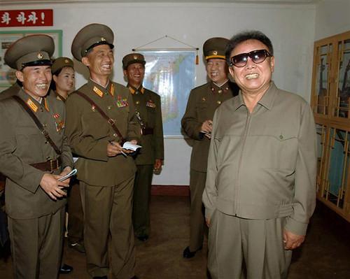 Kim Jong ll in pantusuit