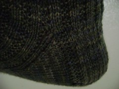 Excaliur Socks Slipped Stitch heel