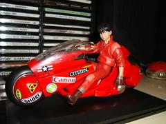 Akira's motorcycle (Giorgio Verrone) Tags: toys moto motorcycle akira tetsuo bandai kaneda katsuhirootomo neotokyo soulofchogokin px03kanedasbike soulofpopynica