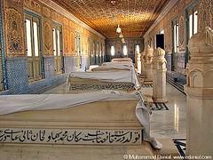 Royal Graveyard, Adjacent to Derawar Fort. (Danial Shah) Tags: pakistan graveyard fort royal sahib punjab dera nawab cholistan bahawalpur derawar bhawalpur edanial muhammaddanial onepakistanonenation muhammaddanialshah