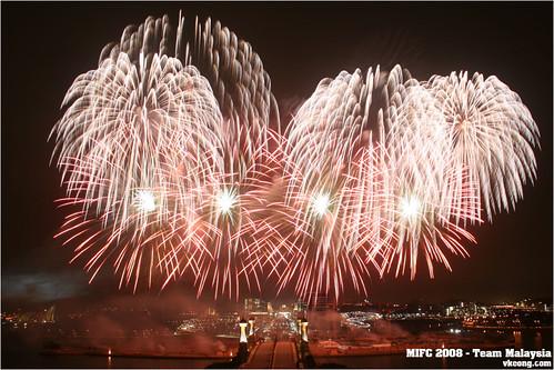 Putrajaya Firework Competition MIFC Malaysia