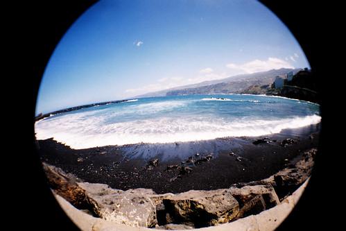 [LOMO FISHEYE] Beach