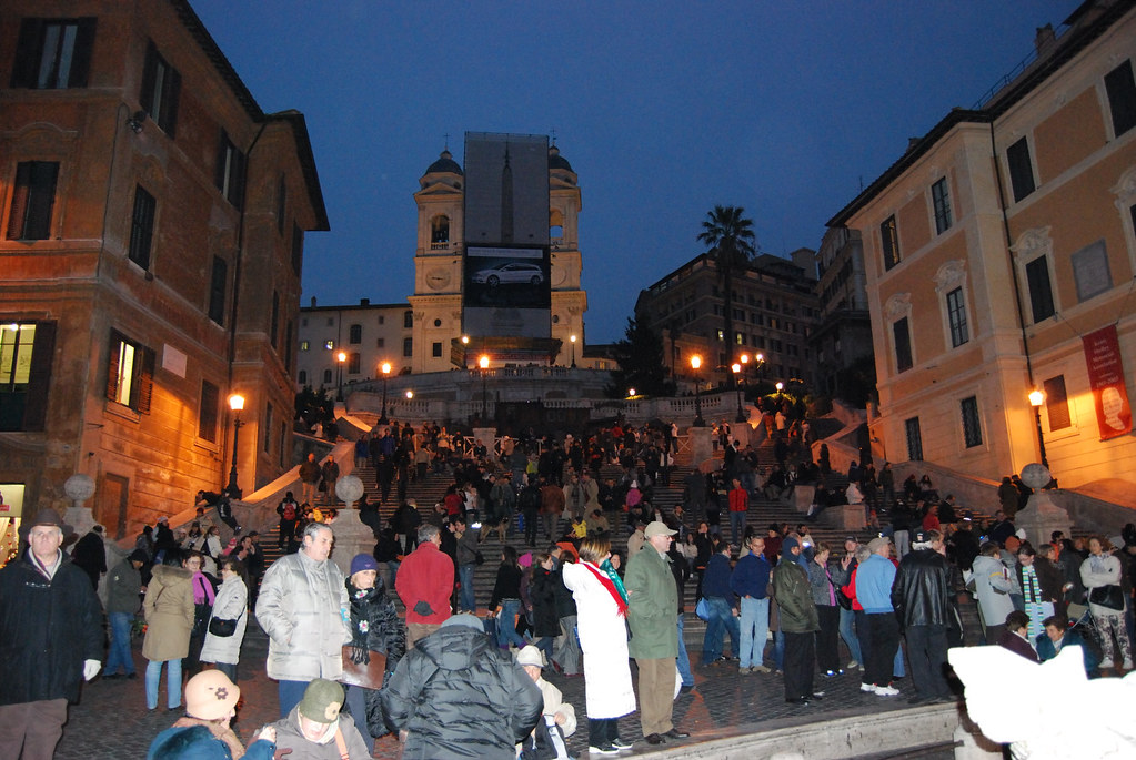 The Spanish Steps ( Piazza di Spagna ) Rome, Italy