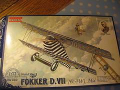 Roden 1/72 Fokker D.VII