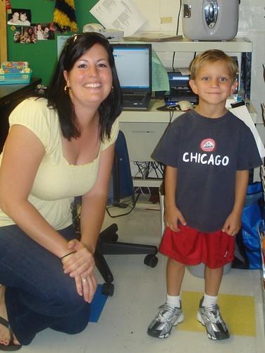 Chase's Kindergarten Teacher
